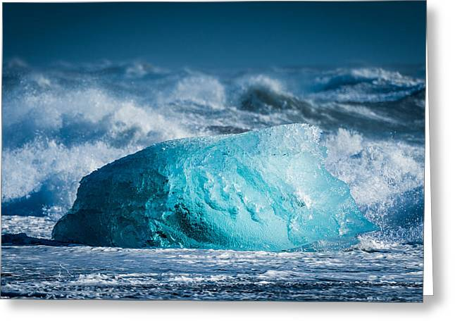 Doomed - Iceland Coast Photograph Greeting Card by Duane Miller