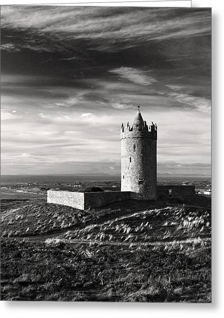 Doonagore Castle Ireland Greeting Card by Pierre Leclerc Photography