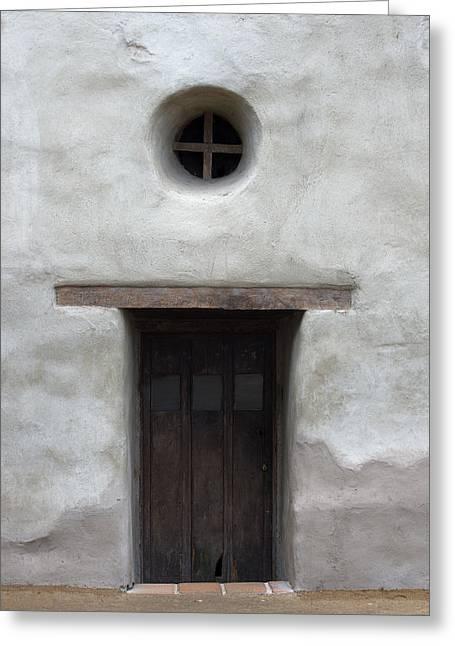 Door-cc Greeting Card by Joey  Maganini