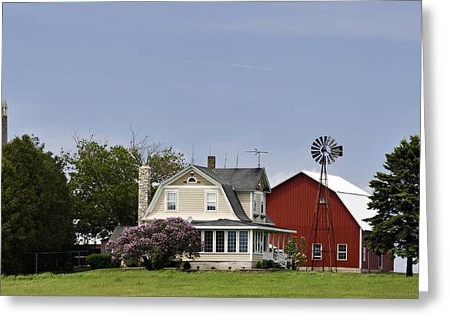 Value Greeting Cards - Door County Farm - D003881 Greeting Card by Daniel Dempster