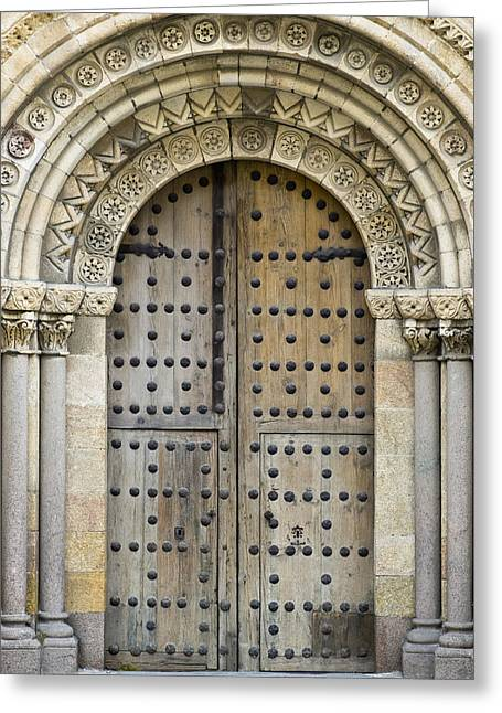 Pedro Greeting Cards - Door Greeting Card by Frank Tschakert