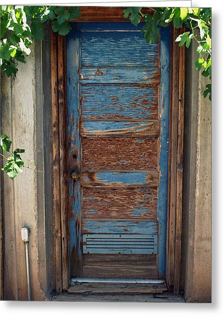 Gia Marie Houck Greeting Cards - Door on Lusk Farm Greeting Card by Gia Marie Houck