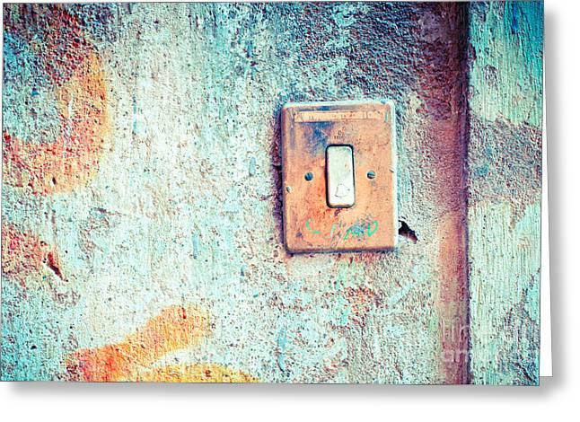 Doorbell Greeting Cards - Doorbell Greeting Card by Silvia Ganora