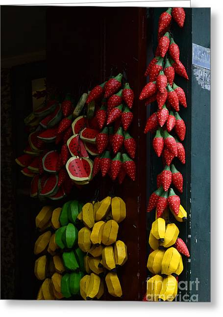 Old Door Greeting Cards - Doors And Windows Minas Gerais State Brazil 15 Greeting Card by Bob Christopher