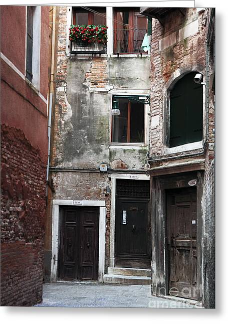 Photo Art Gallery Greeting Cards - Doors of all Sizes Greeting Card by John Rizzuto
