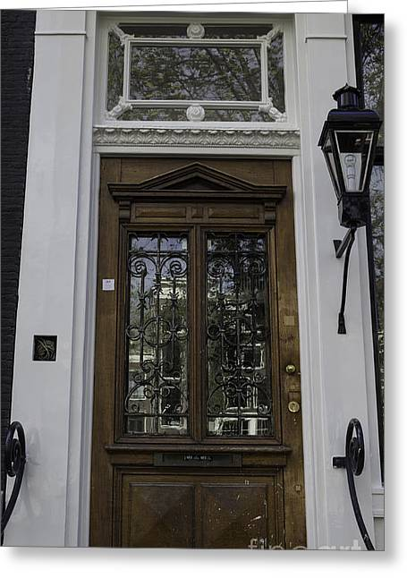 Hardware Greeting Cards - Doors of Amsterdam 01 Greeting Card by Teresa Mucha