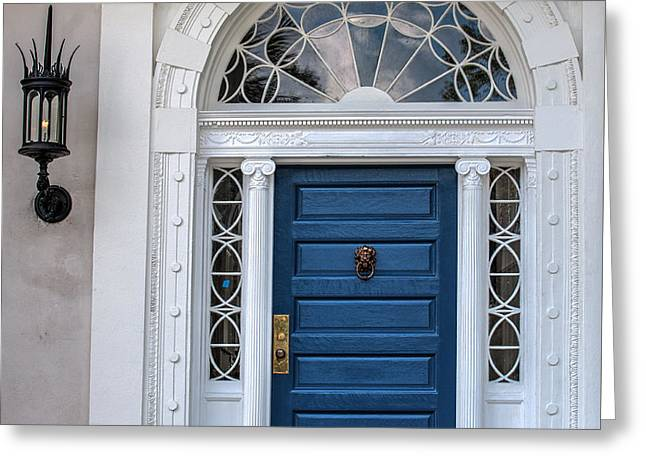 Recently Sold -  - Entrance Door Greeting Cards - Doors of Charleston Greeting Card by Dale Powell