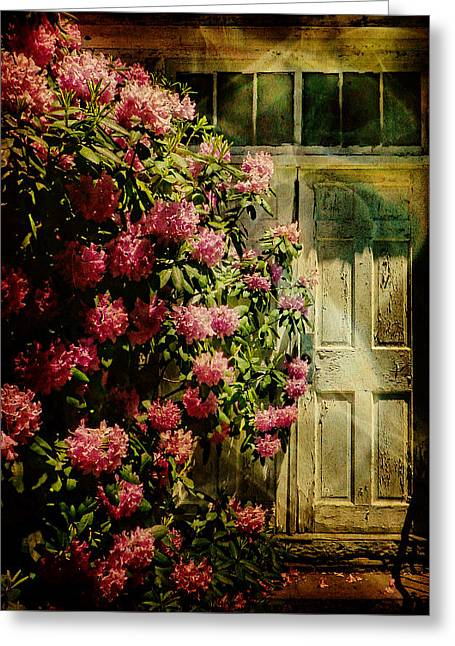 Historical Images Greeting Cards - Doors of Mystery Greeting Card by Pamela Phelps