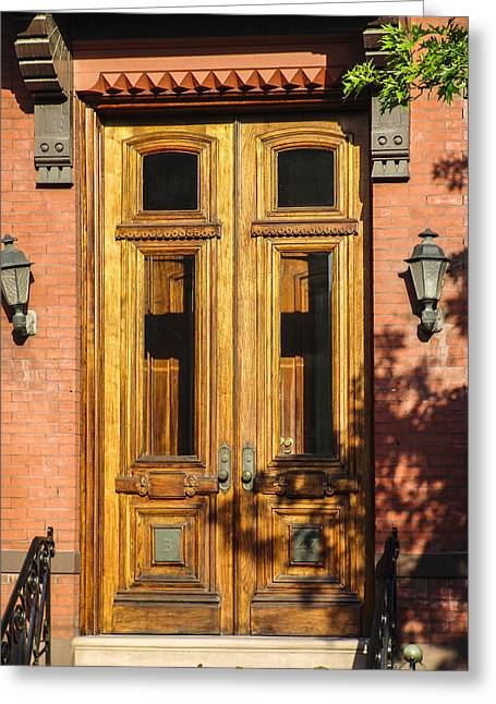 Store Fronts Greeting Cards - Doors of Troy 2 Greeting Card by Eric Swan