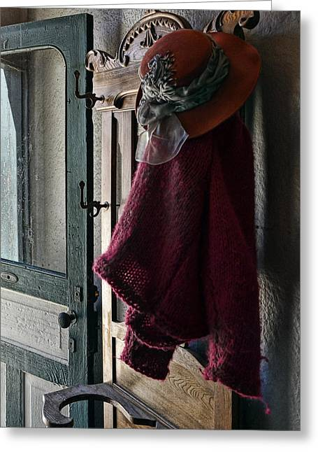Barkerville Greeting Cards - Doors Open Greeting Card by Ed Hall