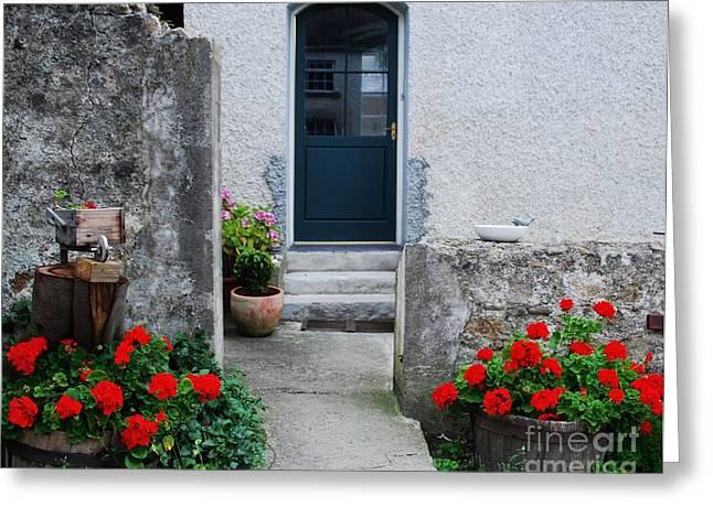 Barrow Framed Prints Greeting Cards - Doorway Killruddery Ireland Greeting Card by Marcus Dagan
