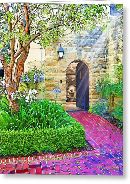 Alternate Universes Greeting Cards - Doorway to Eternity Greeting Card by Chuck Staley