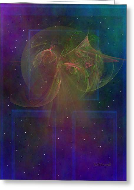 Omnipotent Greeting Cards - Doorway to Heaven Greeting Card by Diane Parnell