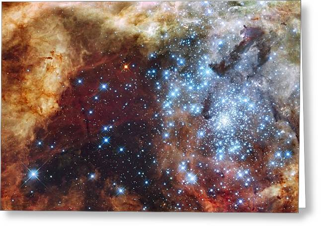 Office Space Digital Art Greeting Cards - Doradus Nebula Greeting Card by Barry Jones