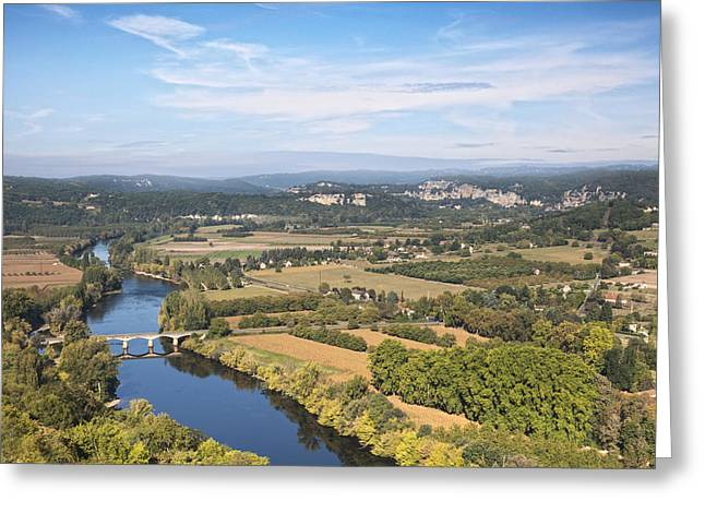 Dordogne Greeting Cards - Dordogne River Aquitaine France Greeting Card by Colin and Linda McKie