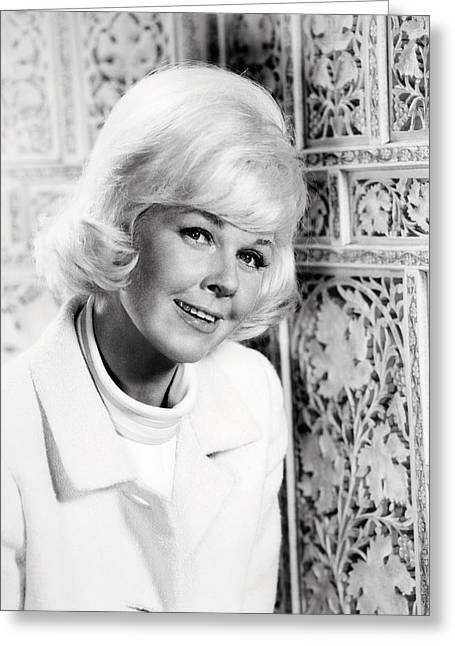Doris Greeting Cards - Doris Day in Lover Come Back  Greeting Card by Silver Screen