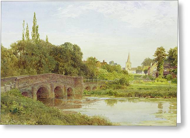 Dorking  Greeting Card by Henry Sutton Palmer