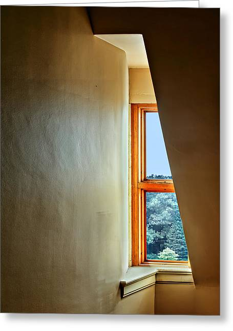 Interior Still Life Photographs Greeting Cards - Dormer Window Greeting Card by Nikolyn McDonald