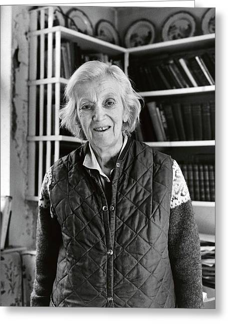 Dorothy Hodgkin Greeting Card by Lucinda Douglas-menzies