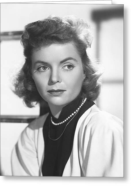 Dorothy Greeting Cards - Dorothy McGuire Greeting Card by Silver Screen