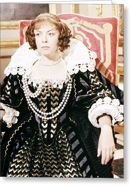 Cromwell Greeting Cards - Dorothy Tutin in Cromwell  Greeting Card by Silver Screen