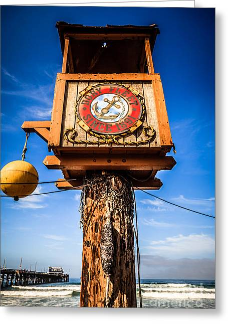 Fish Market Greeting Cards - Dory Fleet Crows Nest in Newport Beach California Greeting Card by Paul Velgos