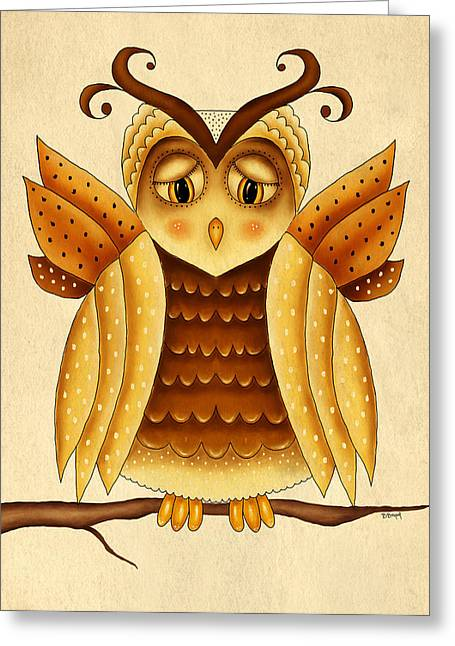 Dottie Greeting Card by Brenda Bryant