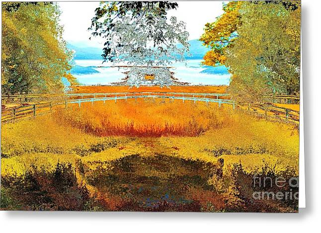 Surrealistic Images Greeting Cards - Double Dutch Greeting Card by Nicholas Costanzo