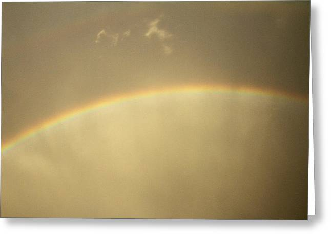 Double Rainbow Greeting Cards - Double Rainbow Apex Greeting Card by Eric Roach