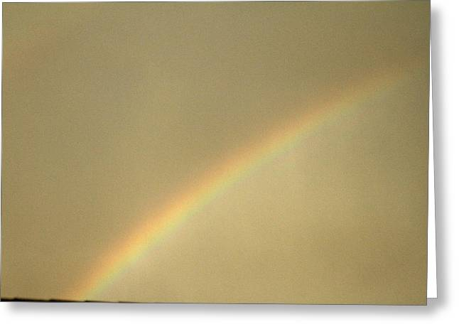Double Rainbow Greeting Cards - Double Rainbow Beginning Greeting Card by Eric Roach
