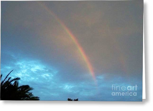 Double Rainbow Greeting Cards - Double Rainbow Greeting Card by Melissa Darnell Glowacki