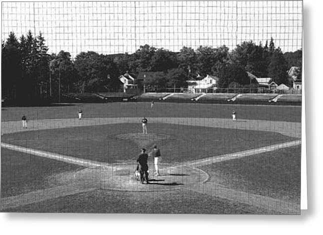 League Greeting Cards - Doubleday Field Cooperstown Ny Greeting Card by Panoramic Images