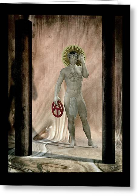 Disobedient Greeting Cards - Freethinker Greeting Card by Joaquin Abella