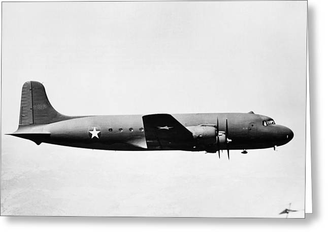 Douglass Greeting Cards - Douglas Skymaster C-54 Greeting Card by Granger