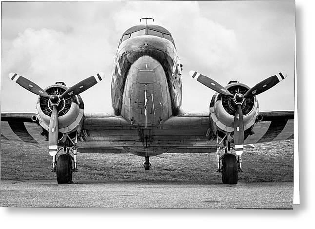 Dc-3 Greeting Cards - Douglass C-47 Skytrain - Dakota - Gooney Bird Greeting Card by Gary Heller