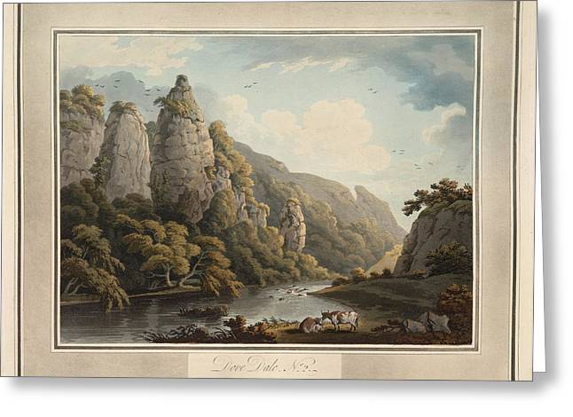 Dove Dale Greeting Card by British Library