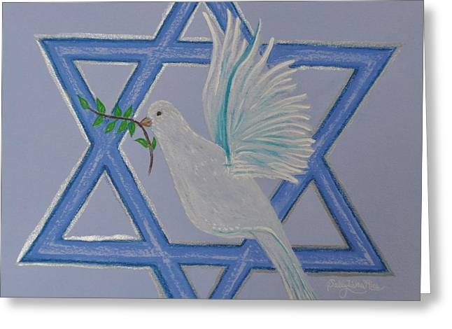 Dove Pastels Greeting Cards - Dove Of Peace Greeting Card by Sally Rice