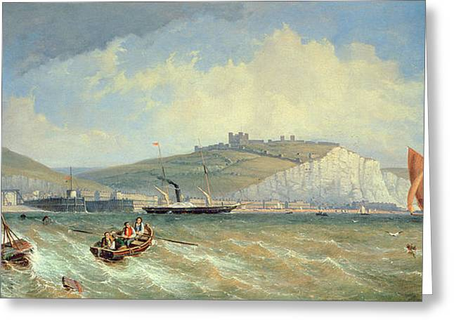 Dover, 19th Century Greeting Card by William Henry Prior