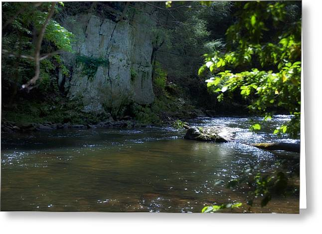 Pa Digital Art Greeting Cards - Dowlin Forge Park - Brandywine Creek Greeting Card by Bill Cannon