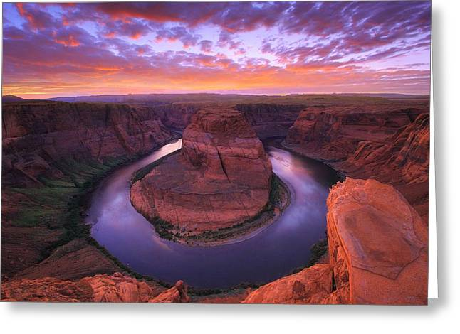 State Park Canyon Greeting Cards - Down Beauty Greeting Card by Kadek Susanto