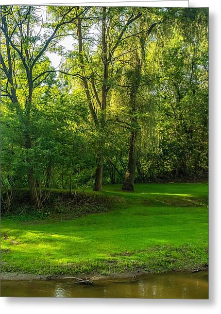 Beautiful Scenery Greeting Cards - Down By the River 2 Greeting Card by Steve Harrington