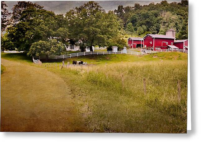 Down on the farm Greeting Card by Bill  Wakeley