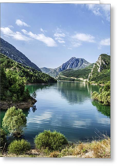 Crystall Greeting Cards - Down to the river Greeting Card by Tilyo Rusev