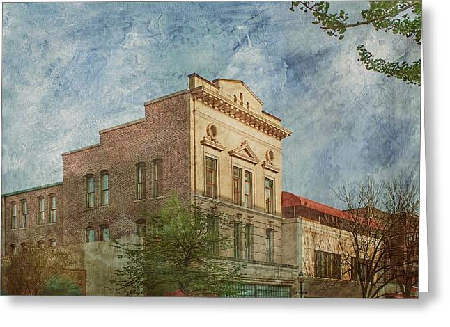 Elm St Greeting Cards - Downtown Beauty Greeting Card by Melissa Bittinger
