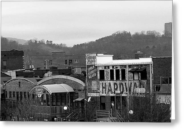 Chattanooga Greeting Cards - Downtown Greeting Card by Brandon Addis