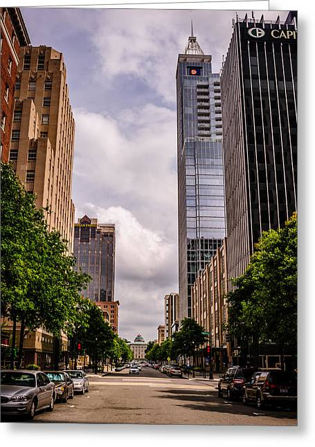 Downtown Greeting Card by Chris Modlin