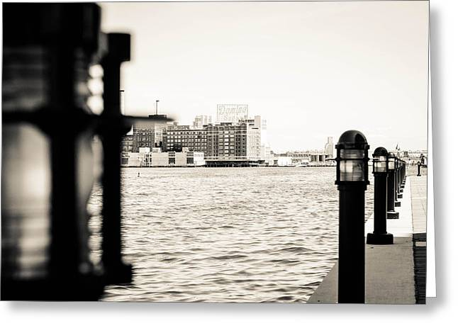 Downtown Sculptures Greeting Cards - Downtown Greeting Card by Danny Weiser