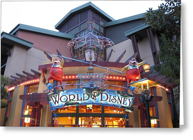 Downtown Disney Anaheim - 121210 Greeting Card by DC Photographer