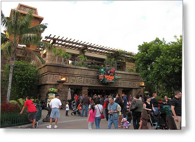 Downs Greeting Cards - Downtown Disney Anaheim - 12123 Greeting Card by DC Photographer