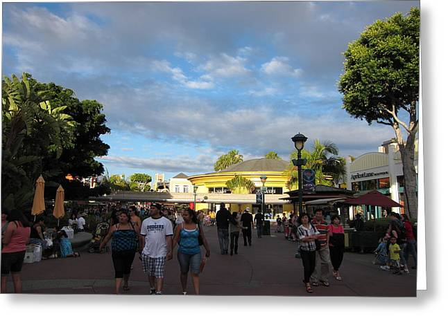Downs Greeting Cards - Downtown Disney Anaheim - 12124 Greeting Card by DC Photographer